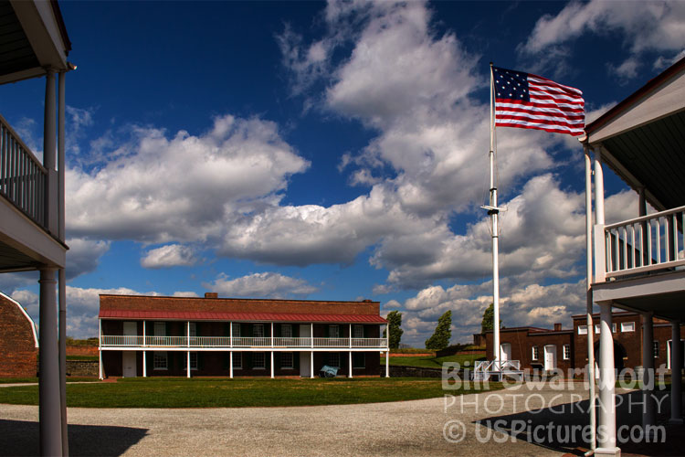 Fort McHenry Parade Ground by Bill Swartwout Photography