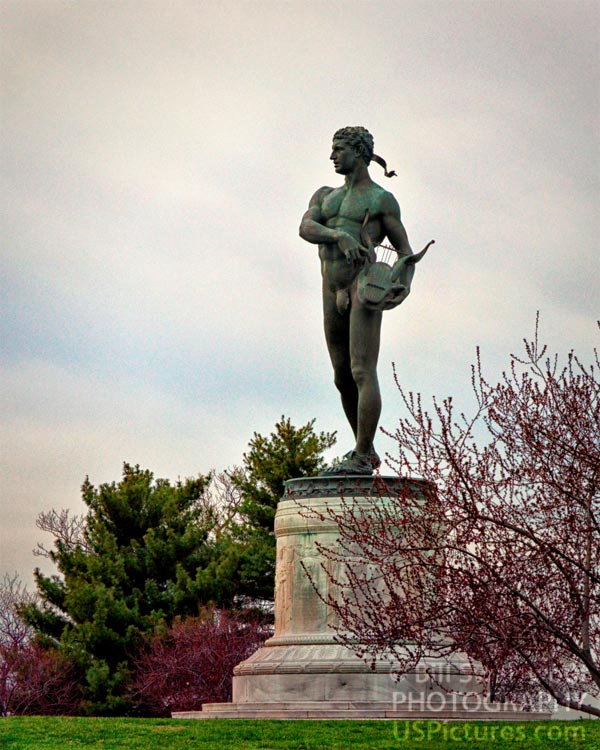 Orpheus Statue at Fort McHenry