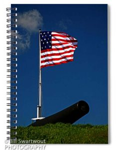 Fort Mchenry Spiral Notebook